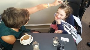 Current Rose of Tralee International Festival winner with possible future Rose of Tralee winner?