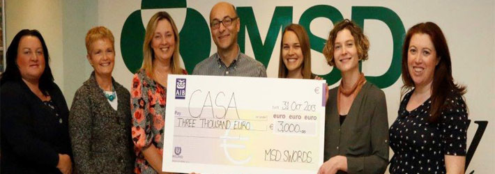 MSD donation to CASA