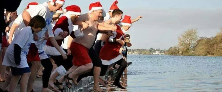 Christmas day swim for CASA Loughrea